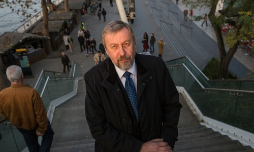 Andrei Sannikov in London in 2012. Photograph: Sean Smith for the Guardian