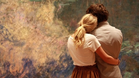 A Couple at Museum of Modern Art