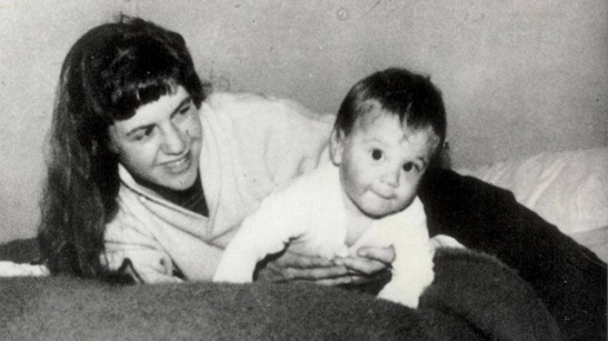 sylvia plath and son.jpg