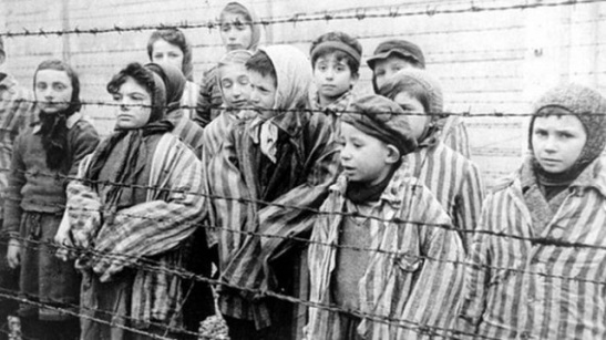 Child survivors at Auschwitz.jpg