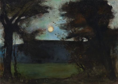 Moon Rising over the Grunewaldsee.jpg
