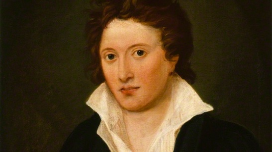 NPG 1234; Percy Bysshe Shelley by Amelia Curran