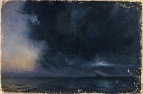 The Phantom Ship, Atlantic Ocean