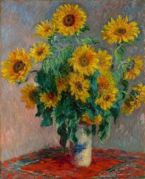 Sunflowers monet