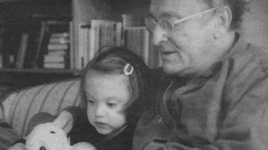 Joseph Brodsky and daughter